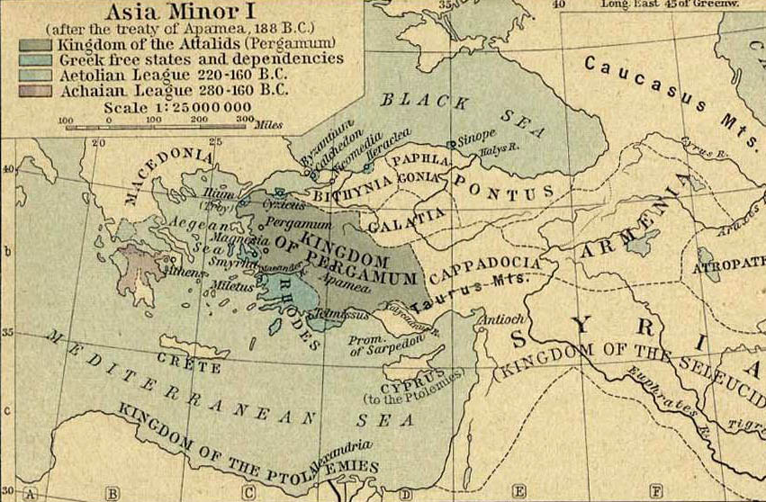 anatolie centrale carte